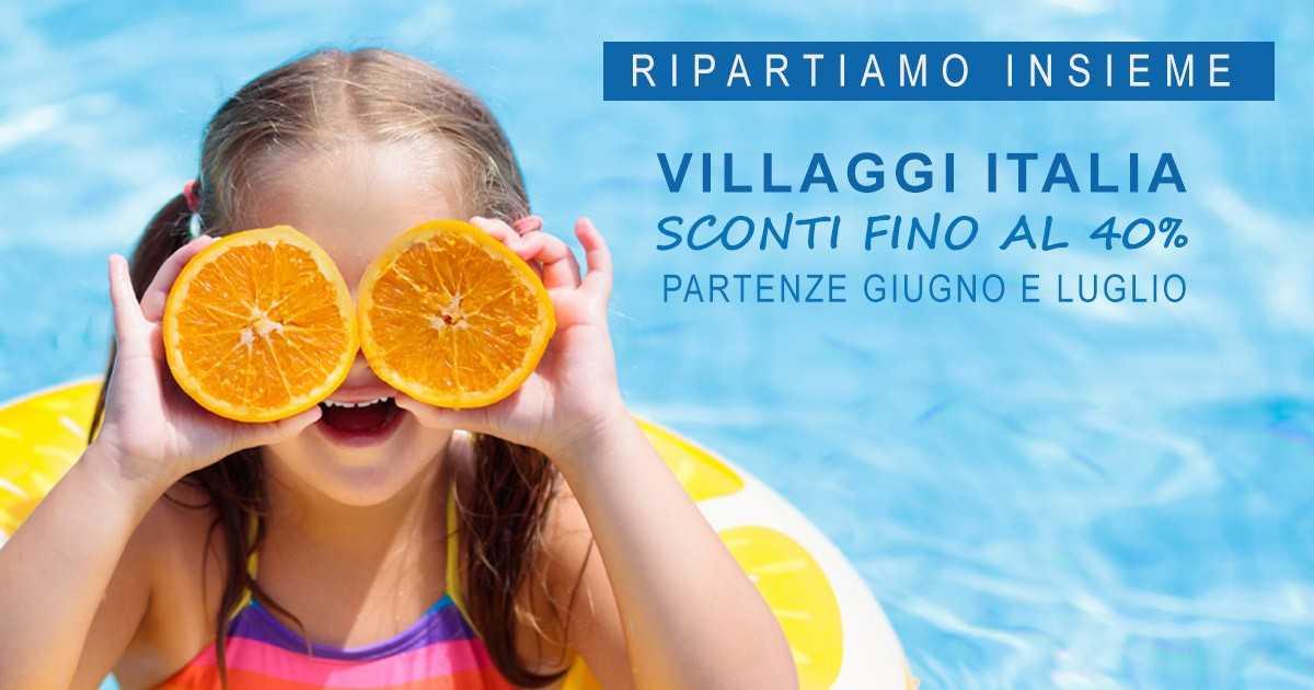 villaggi italia sconti partenze giugno luglio